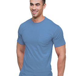 Adult 6.1 oz., Cotton Pocket T-Shirt Thumbnail