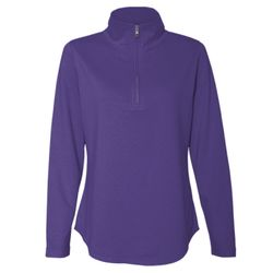 Women's Quarter Zip French Terry Pullover Thumbnail