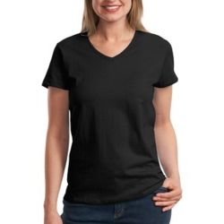 Ladies ComfortSoft ® V Neck Tee Thumbnail