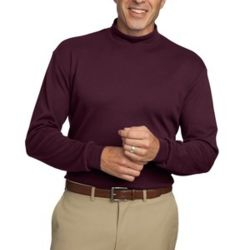 Interlock Knit Mock Turtleneck Thumbnail