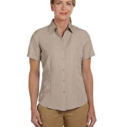 Ladies' Barbados Textured Camp Shirt Thumbnail
