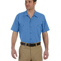 Men's 4.25 oz. Industrial Short-Sleeve Work Shirt Thumbnail