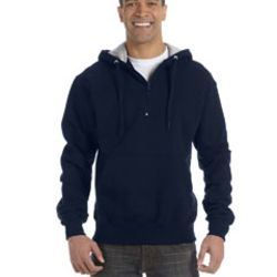 Cotton Max 9.7 oz. Quarter-Zip Hood Thumbnail