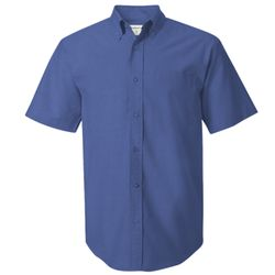 Short Sleeve Oxford Shirt Tall Sizes Thumbnail