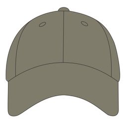 Solid Cap with Camouflage Bill Thumbnail