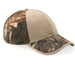 Solid Front Camouflage Cap Thumbnail