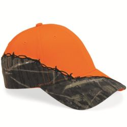 Licensed Camo Cap with Barbed Wire Embroidery Thumbnail