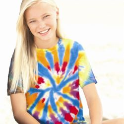 Youth Rainbow Cut-Spiral T-Shirt Thumbnail