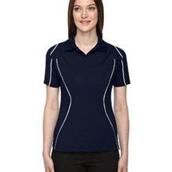 Ladies' Eperformance™ Velocity Snag Protection Colorblock Polo with Piping Thumbnail