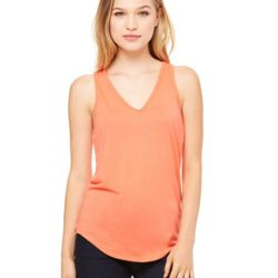 Women's Flowy V-neck Tank Thumbnail