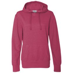 Women's Glitter French Terry Hooded Pullover Thumbnail
