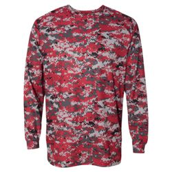 Digital Camo Long Sleeve T-Shirt Thumbnail