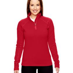 Ladies' Stretch Fleece Half-Zip Thumbnail