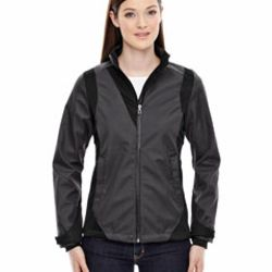 Ladies' Commute Three-Layer Light Bonded Two-Tone Soft Shell Jacket with Heat Reflect Technology Thumbnail