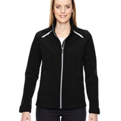 Ladies' Excursion Soft Shell Jacket with Laser Stitch Accents Thumbnail