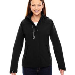 Ladies' Axis Soft Shell Jacket with Print Graphic Accents Thumbnail