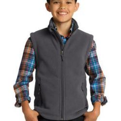 Youth Value Fleece Vest Thumbnail
