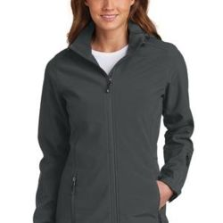 Ladies Hooded Soft Shell Parka Thumbnail