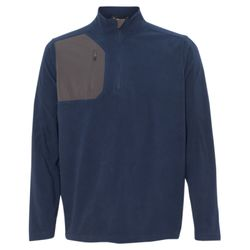 Interval DDX Quarter-Zip Nano Fleece Nylon Pullover Thumbnail