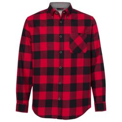 Vintage Brushed Flannel Long Sleeve Shirt Thumbnail