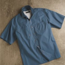 Guide Cotton Poplin Short Sleeve Shirt Thumbnail