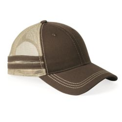 Trucker Cap with Stripes Thumbnail