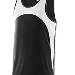 Adult Wicking Polyester Sleeveless Jersey with Contrast Inserts Thumbnail