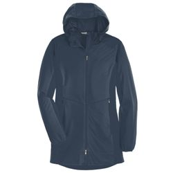 Ladies Active Hooded Soft Shell Jacket Thumbnail