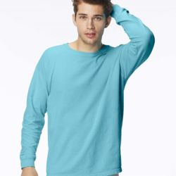 Garment Dyed Midweight Ringspun Long Sleeve T-Shirt Thumbnail