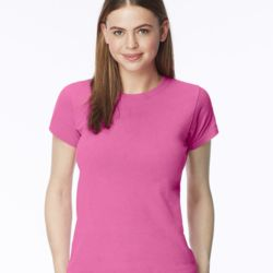 Pigment-Dyed Ringspun Women's Short Sleeve T-Shirt Thumbnail