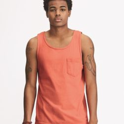 Garment Dyed Tank with a Pocket Thumbnail
