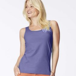 Women's Garment Dyed Tank Top Thumbnail