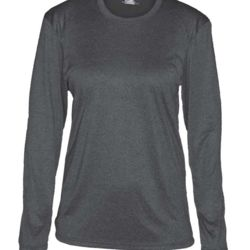 Pro Heather Women's Long Sleeve Tee Thumbnail