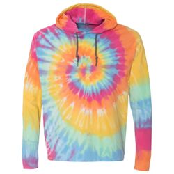 Tie Dye Hooded Pullover T-Shirt Thumbnail