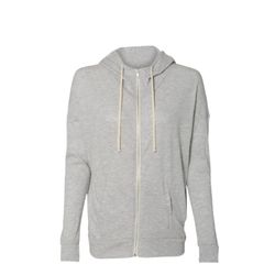 Women's Eco-Jersey Cool Down Hooded Full-Zip Thumbnail