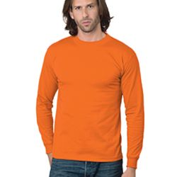 Adult 6.1 oz., Cotton Long Sleeve T-Shirt Thumbnail