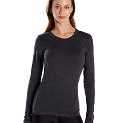 Ladies' 4.3 oz. Long-Sleeve Crewneck Thumbnail