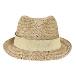 OTTO Natural Straw Fedora Thumbnail
