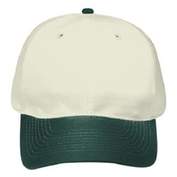 OTTO Natural Cotton Twill Six Panel Low Profile Baseball Cap Thumbnail