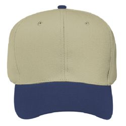 OTTO Garment Washed Bull Denim Six Panel Pro Style Dad Hat Thumbnail