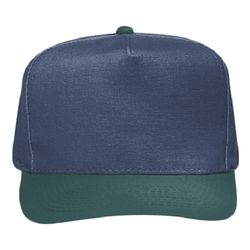 OTTO Garment Washed Superior Cotton Canvas Five Panel Low Crown Dad Hat Thumbnail