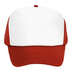 OTTO Polyester Foam Front High Crown Golf Style Mesh Back Cap Thumbnail