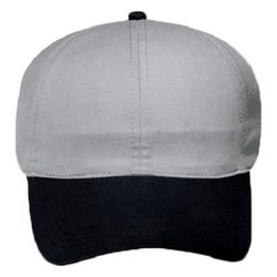 OTTO Brushed Cotton Blend Twill Four Panel Ponytail Cap Thumbnail