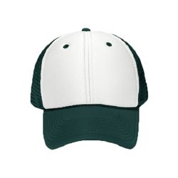 OTTO Polyester Foam Front Six Panel Low Profile Mesh Back Trucker Hat Thumbnail