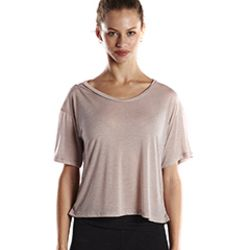 Ladies' 4.2 oz. Boxy Open Neck Top Thumbnail