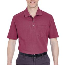 Adult Classic Piqué Polo with Pocket Thumbnail