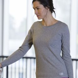 Women's Essential Long Sleeve 60/40 Performance Tee Thumbnail