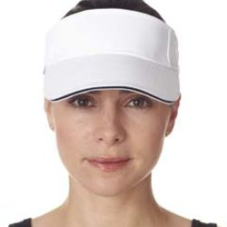 Adult Classic Cut Brushed Cotton Twill Sandwich Visor Thumbnail