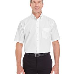 Men's Crown Woven Collection™ Solid Broadcloth Short-Sleeve Shirt Thumbnail