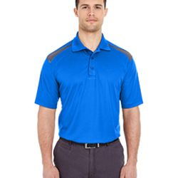 Adult Cool & Dry Two-Tone Mesh Piqué Polo Thumbnail